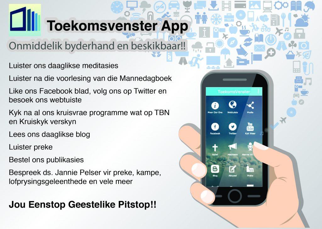 ToekomsVenster app